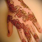 Фото браслет хной - 19072017 - пример - 088 Bracelet with henna