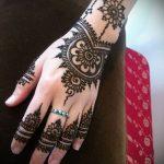Фото браслет хной - 19072017 - пример - 092 Bracelet with henna