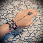 Фото браслет хной - 19072017 - пример - 093 Bracelet with henna