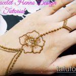 Фото браслет хной - 19072017 - пример - 094 Bracelet with henna