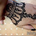 Фото браслет хной - 19072017 - пример - 096 Bracelet with henna