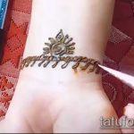 Фото браслет хной - 19072017 - пример - 100 Bracelet with henna