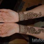 Фото браслет хной - 19072017 - пример - 101 Bracelet with henna