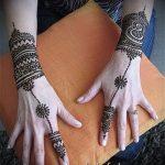 Фото браслет хной - 19072017 - пример - 106 Bracelet with henna