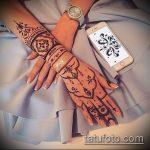 Фото браслет хной - 19072017 - пример - 107 Bracelet with henna