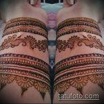 Фото браслет хной - 19072017 - пример - 108 Bracelet with henna