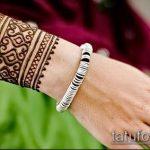 Фото браслет хной - 19072017 - пример - 109 Bracelet with henna