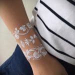 Фото браслет хной - 19072017 - пример - 110 Bracelet with henna