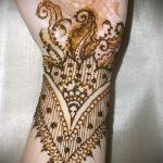 Фото браслет хной - 19072017 - пример - 111 Bracelet with henna