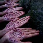 Фото змея хной - 21072017 - пример - 006 Snake with henna