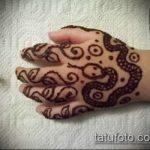 Фото змея хной - 21072017 - пример - 007 Snake with henna