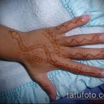 Фото змея хной - 21072017 - пример - 009 Snake with henna