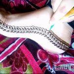 Фото змея хной - 21072017 - пример - 010 Snake with henna
