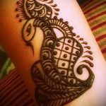 Фото змея хной - 21072017 - пример - 012 Snake with henna