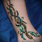 Фото змея хной - 21072017 - пример - 025 Snake with henna