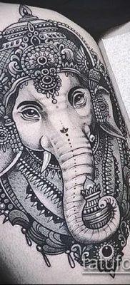 Фото тату Ганеша – 21072017 – пример – 009 Ganesha tattoo