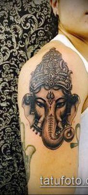 Фото тату Ганеша – 21072017 – пример – 012 Ganesha tattoo