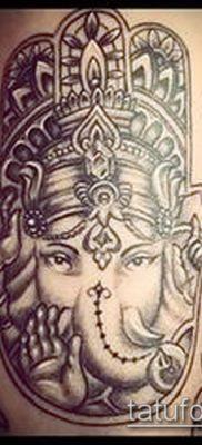 Фото тату Ганеша – 21072017 – пример – 014 Ganesha tattoo