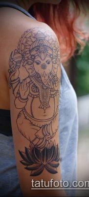 Фото тату Ганеша – 21072017 – пример – 016 Ganesha tattoo
