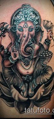 Фото тату Ганеша – 21072017 – пример – 017 Ganesha tattoo