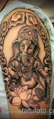 Фото тату Ганеша – 21072017 – пример – 018 Ganesha tattoo