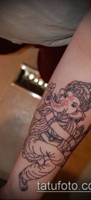 Фото тату Ганеша – 21072017 – пример – 022 Ganesha tattoo