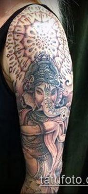 Фото тату Ганеша – 21072017 – пример – 024 Ganesha tattoo