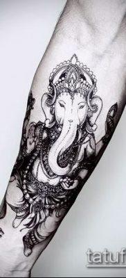 Фото тату Ганеша – 21072017 – пример – 027 Ganesha tattoo