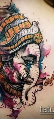 Фото тату Ганеша – 21072017 – пример – 033 Ganesha tattoo