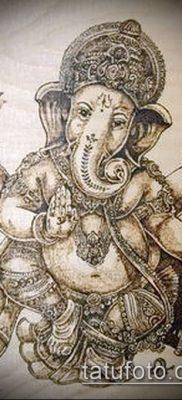 Фото тату Ганеша – 21072017 – пример – 035 Ganesha tattoo