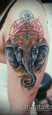 Фото тату Ганеша – 21072017 – пример – 035 Ganesha tattoo 12341511