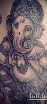 Фото тату Ганеша – 21072017 – пример – 046 Ganesha tattoo