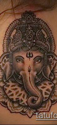 Фото тату Ганеша – 21072017 – пример – 050 Ganesha tattoo