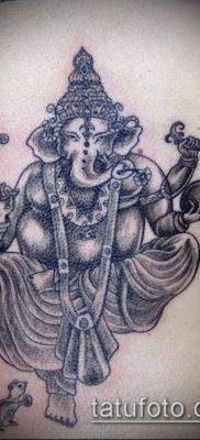 Фото тату Ганеша – 21072017 – пример – 052 Ganesha tattoo