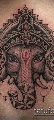 Фото тату Ганеша – 21072017 – пример – 056 Ganesha tattoo