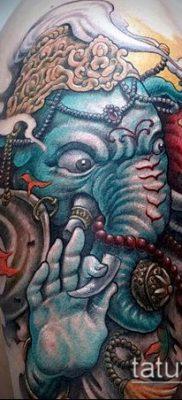 Фото тату Ганеша – 21072017 – пример – 058 Ganesha tattoo