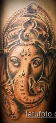 Фото тату Ганеша – 21072017 – пример – 060 Ganesha tattoo