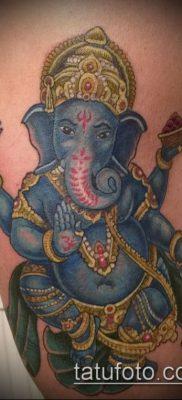 Фото тату Ганеша – 21072017 – пример – 063 Ganesha tattoo