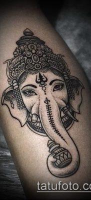 Фото тату Ганеша – 21072017 – пример – 067 Ganesha tattoo