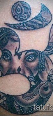 Фото тату Ганеша – 21072017 – пример – 069 Ganesha tattoo