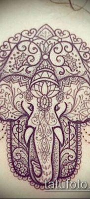 Фото тату Ганеша – 21072017 – пример – 071 Ganesha tattoo