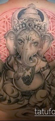 Фото тату Ганеша – 21072017 – пример – 082 Ganesha tattoo