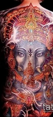 Фото тату Ганеша – 21072017 – пример – 084 Ganesha tattoo