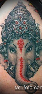 Фото тату Ганеша – 21072017 – пример – 085 Ganesha tattoo