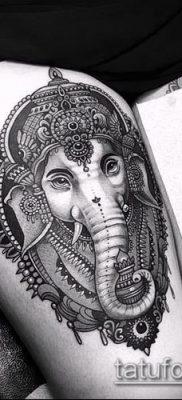 Фото тату Ганеша – 21072017 – пример – 086 Ganesha tattoo