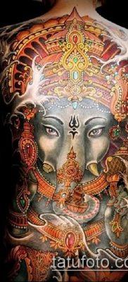 Фото тату Ганеша – 21072017 – пример – 087 Ganesha tattoo