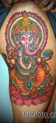 Фото тату Ганеша – 21072017 – пример – 093 Ganesha tattoo