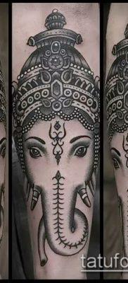 Фото тату Ганеша – 21072017 – пример – 094 Ganesha tattoo