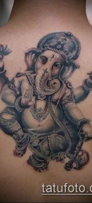 Фото тату Ганеша – 21072017 – пример – 097 Ganesha tattoo