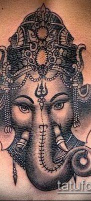 Фото тату Ганеша – 21072017 – пример – 099 Ganesha tattoo